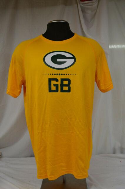 Under Armour Men/'s NFL Combine UA Tech Logo Tee NWT Green Bay Packers