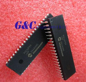 NEW 10PCS PIC16F59-I//P PIC16F59 IC PIC MCU FLASH 2KX12 40DIP