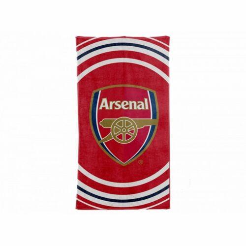 Club Sous Licence Arsenal Pulse serviette-KID /'S FOOTBALL Vacances Plage Piscine-APT