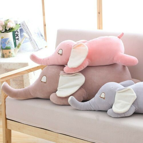 Soft Down Cotton Elephant Doll Plush Toy Baby Sleep Pillow Girlfriend Gift
