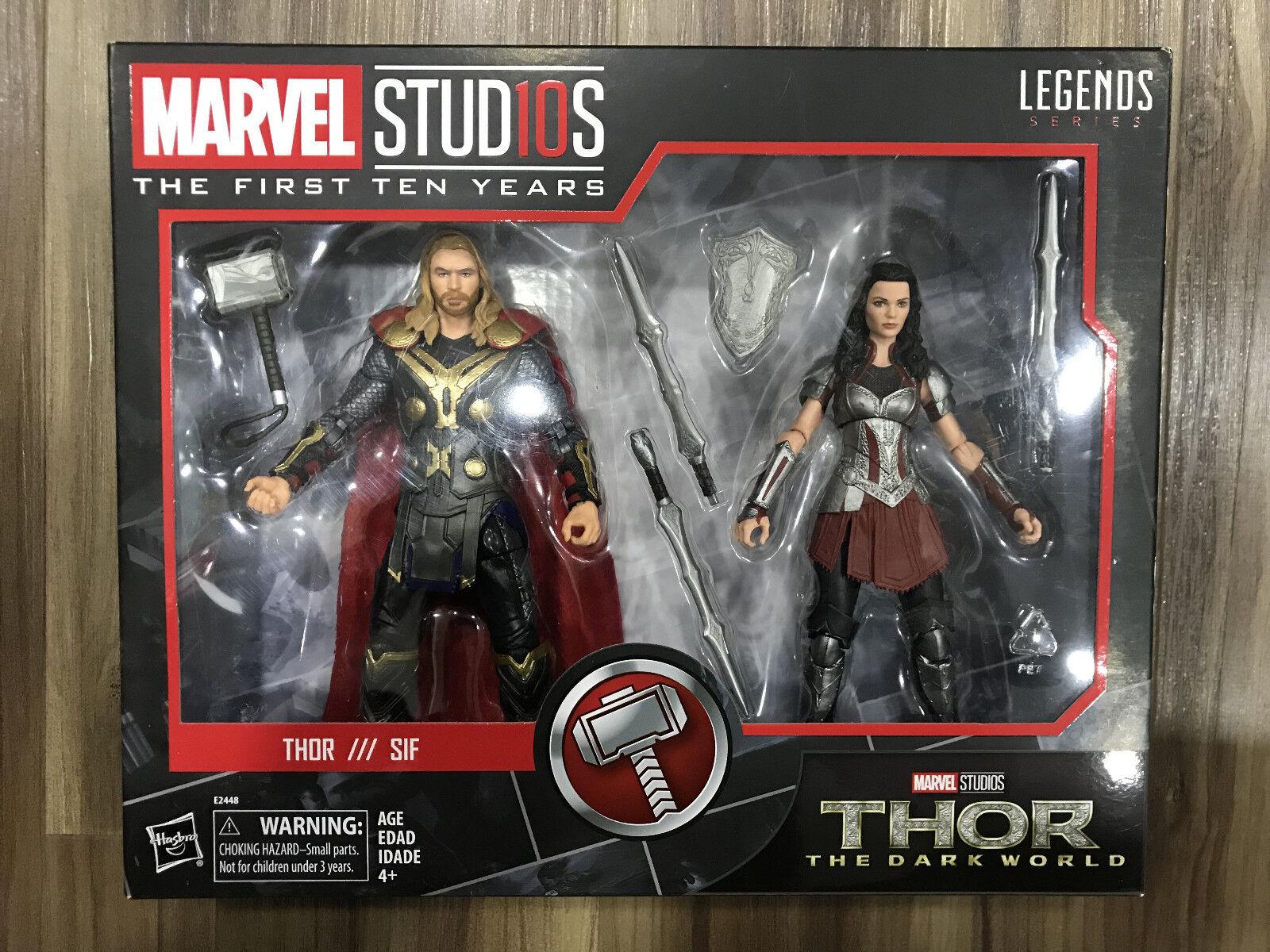 calidad de primera clase Universo Marvel Marvel Marvel Legends 10th Aniversario Cine Thor Sif 6  figura En Mano   comprar marca