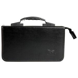 Handle-Design-200-Disc-CD-DVD-Holder-Case-Practical-Box-Storage-Bag-Black-New