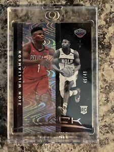 2019-20-Panini-Black-Basketball-Zion-Williamson-49