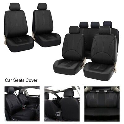 11 Pieces of PU Leather Car Seat Cover Four Seasons Universal ...