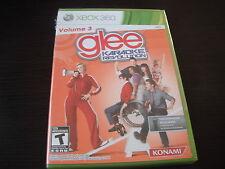 Microsoft Xbox 360 brand new Glee Karaoke Revolution 3