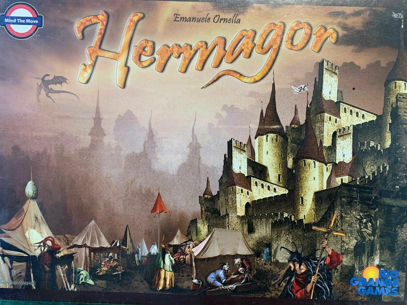 Hermagor Board Game - NEW SEALED