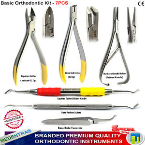 6er-Pinces-d-039-Orthodontie-Dentaires-Pince-Orthodontique-Pour-Ligatures-Fil-Coupe