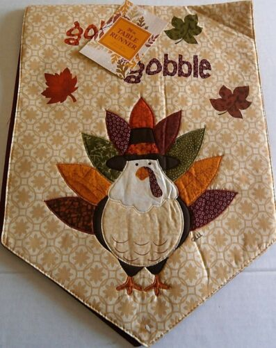 """THANKSGIVING//FALL  TABLE RUNNER ASSORTMENT  13/"""" X 36/"""" {Your choice}"""