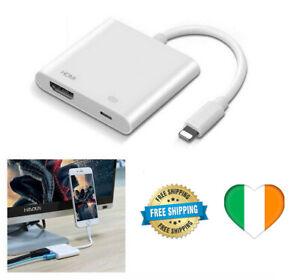 Adattatore-Cavo-8-Pin-To-HDMI-4k-Ricarica-TV-HDTV-cable-iPhone-7-8-x-11