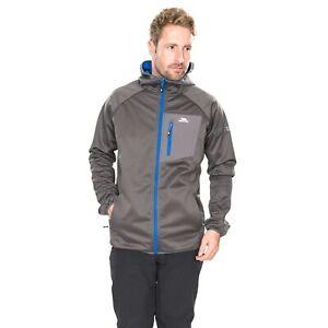 Trespass-Dayton-Mens-Softshell-Jacket-Waterproof-Grey-Trekking-Camping-Coat