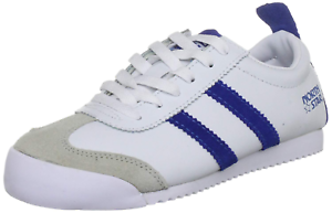 RRP-40-Ladies-Girls-Boys-Running-Trainers-Lace-Up-Suede-Sport-Shoes-White-Sz-5