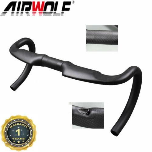 400-440mm Full Carbon Fiber Road Bike Drop Handlebar Cycling Bicycle Aero Bar