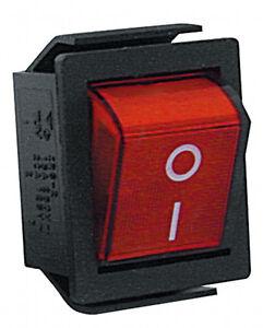 Wippenschalter-Beleuchtet-Eckig-Ein-Aus-2-x-Schliesser-250-V-15-A-Schwarz-4748
