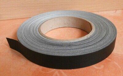 FäHig 1 Regutex Fälzelband Mit Leinenstruktur - 50 M X 19 Mm Schwarz - Selbstklebend Hochglanzpoliert