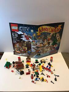 LEGO lotto minifigures Festività Natalizie Pupazzo Di Neve Frosty Avvento 60024 non completo