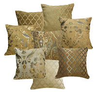 Damask Checker Match Color Pattern Cotton Blend Cushion Cover/Pillow Case