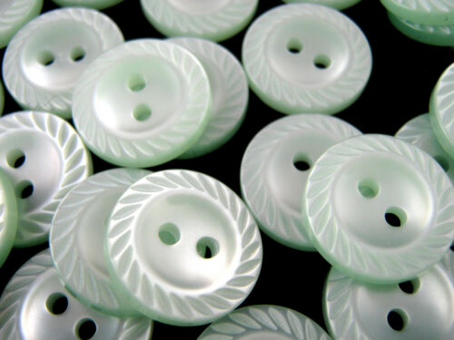 2 Hole Plastic Milled Edge Polyester Buttons Milled Edge