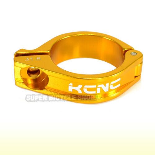 KCNC Front Derailleur Forged Clamp Black 31.8mm