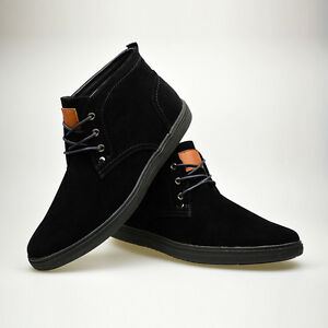 Mens-Fashion-Design-Black-Leather-Formal-Boots-NEW-LISTED-UK-SIZE-6-7-8-9-10-11