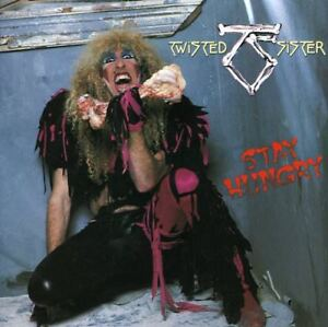 Stay-Hungry-by-Twisted-Sister-CD-1984-Atlantic-Canada-80156-Sealed