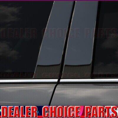 2011-2019 Ford Explorer 6Pc Chrome Pillar Post w//Cutout Trim Stainless Steel