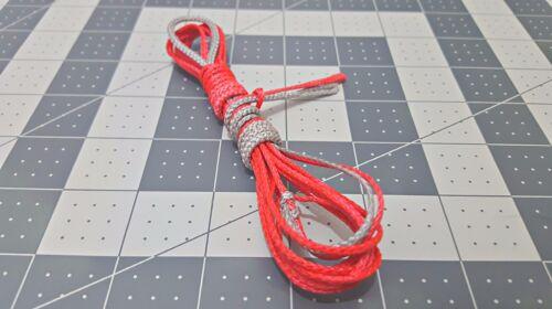 ENO Hammock adjustable ridge line Red//Grey