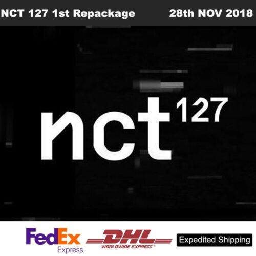 NCT 127 NCT #127 Regulate 1st Repackage Full Ver CD+Booklet+Card+Etc+Track Num