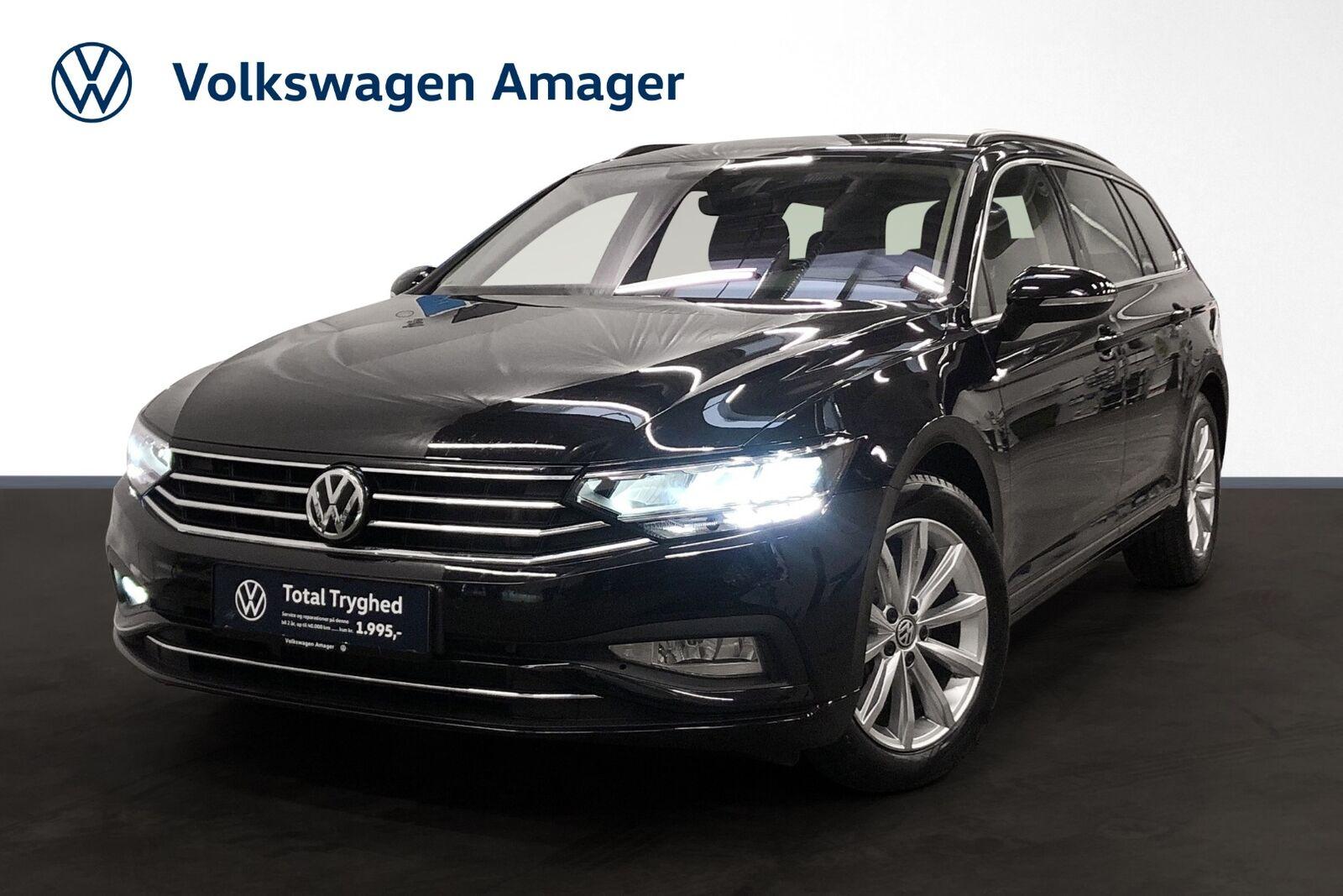 VW Passat 1,5 TSi 150 Business+ Variant DSG 5d - 324.900 kr.