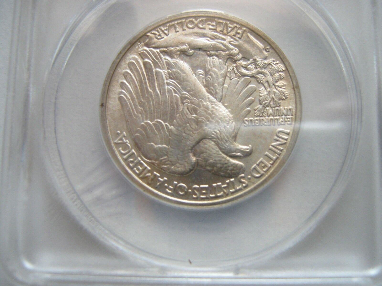 1942-D , Walking Liberty Half Dollar , ANACS , MS 65