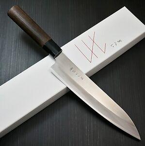 Japanese Gihei Hap40 Powder High Speed Steel Chef S Kitchen Knife