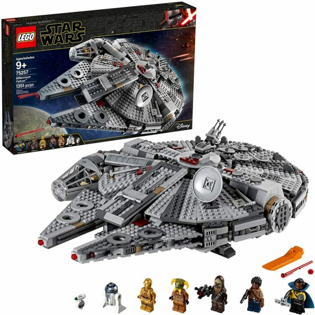 NEW - LEGO Star Wars Millennium Falcon 75257 (SAME DAY SHIPPING)
