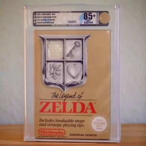 Nintendo-NES-The-Legend-of-Zelda-VGA-85-Presque-comme-neuf-No-Uche-no-Wata-NOUVEAU-TOP
