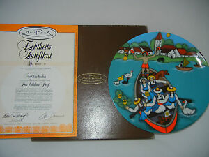 Elke-Summer-Plate-The-Merry-Village-on-Pond-With-Original-Package-No-2-67