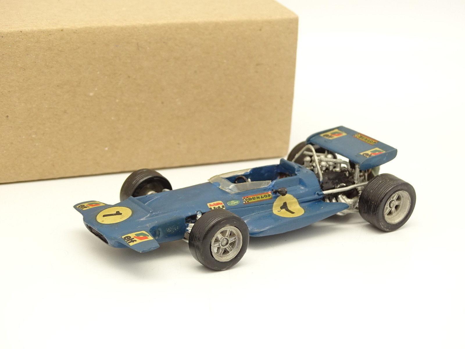 Kit Metal Montado 1 43 - F1 Tyrrell Ford 001 Stewart