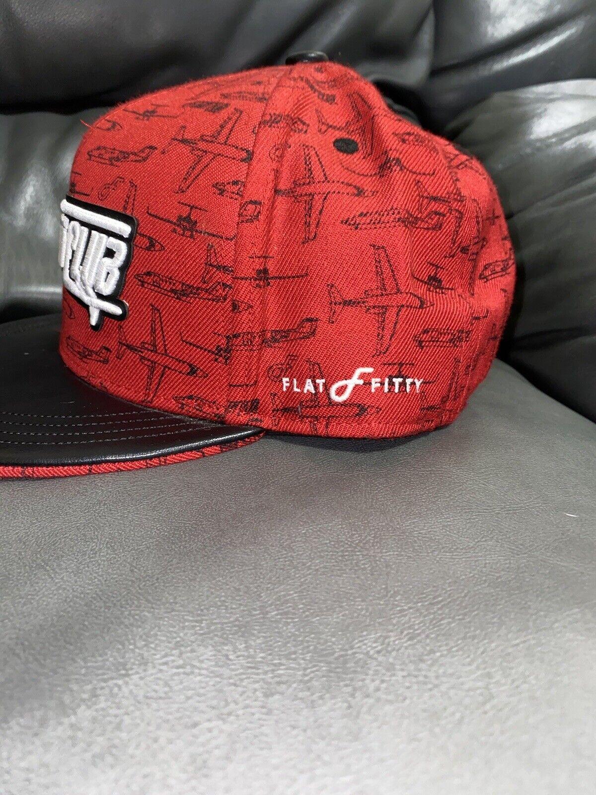 Red Flightclub Snapback - image 2