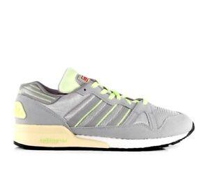 Adidas originali zx 710 grigio ghiaccio / alluminio / bagliore dello stile di vita degli uomini