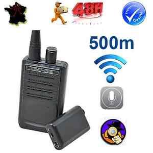 mini micro espion ecoute discrete a distance emetteur recepteur 500 m sans fil ebay