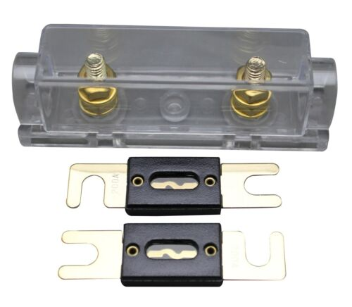 NY Ship Anl Fuse Holder Distribution Inline 0 4 8 Ga Free 200A Anl Fuse Skfh127G