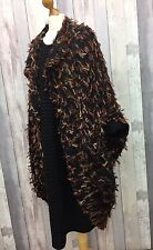 LAGENLOOK QUIKRY BOHO HIPPY Coat Upside Down Style by Cover Up of Italy ANY SIZE