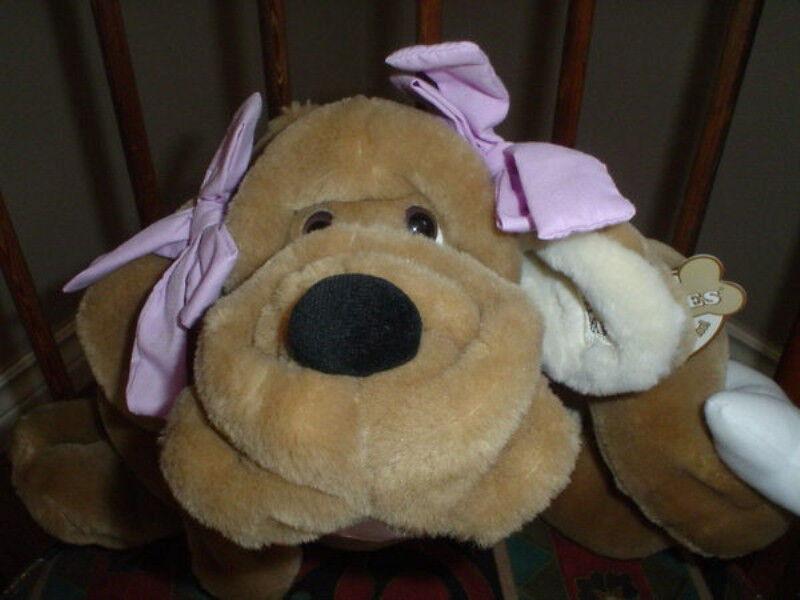 Ganz 9 Inch WrinklesDog Puppet Sandy H5006