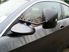 PAIR of Milenco Grand Aero Caravan Car Towing Flat Glass Mirrors Tow Mirror