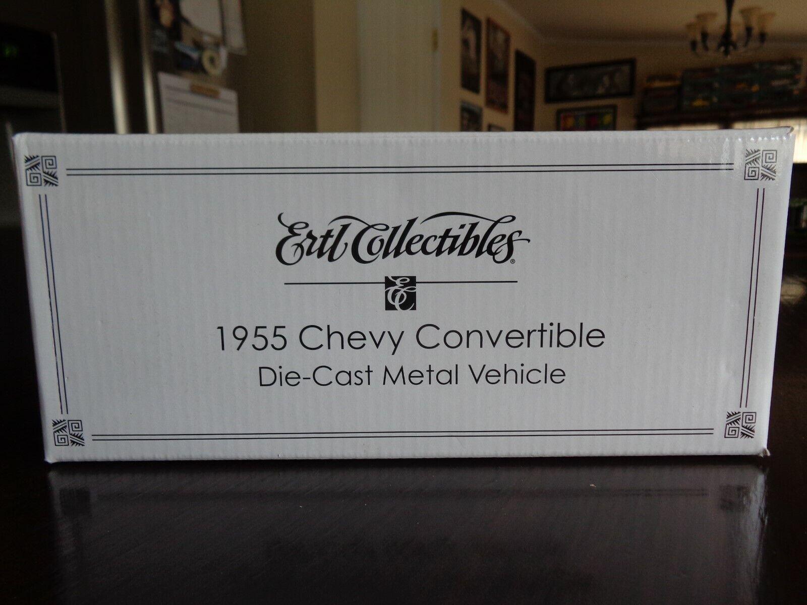 1955 CHEVY CONgreenIBLE CONgreenIBLE CONgreenIBLE UT UNIVERSITY TENNESSEE LADY VOLS LTD ED 1 25 ERTL 2bbde5