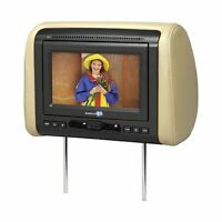 Audiovox 7 Headrest Monitor(sold Each) With Dvd Player 3 Covers
