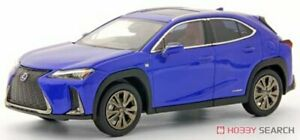 Kyosho Original 1//43 Lexus UX250h F SPORT Heat Blue Contrast Layering Completed
