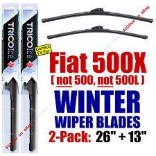 WINTER Wipers 2pk Premium - fit 2016+ Fiat 500X - 35260/130