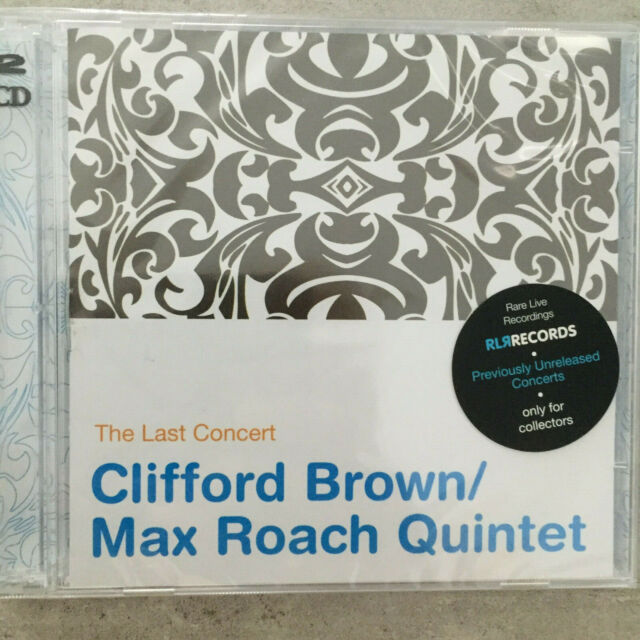 CLIFFORD BROWN / MAX ROACH QUINTET: The Last Concert (2-CD RLR  88617 / OVP)