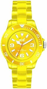 Ice-watch-Classique-Solide-Polyamide-Unisexe-Jaune-Mode-Montre-CS-YW-U-P-10