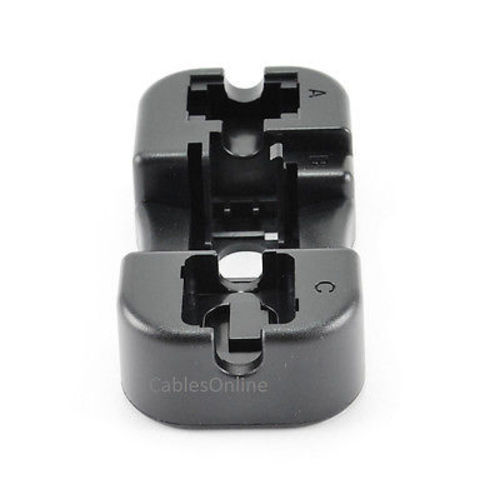 RJ45//RJ11 Keystone Jack Punch Down Installation Stand Holder Assembly Tool