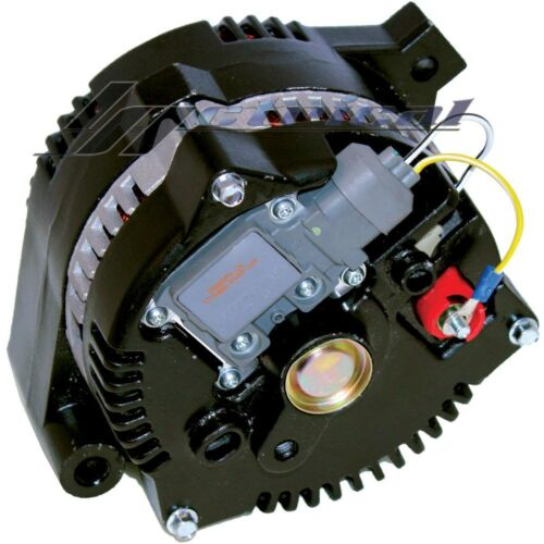NEW ALTERNATOR FORD MUSTANG,BLACK W//BILLET PULLEY,1 ONE WIRE HIGH OUTPUT 250AMP