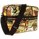 Marvel Comics Retro Shoulder Messenger Bag Official Spiderman Hulk